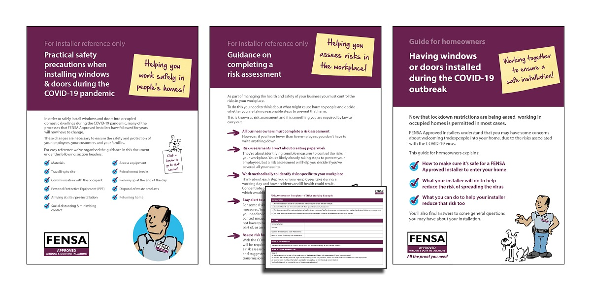 FENSA Covid-19 guidelines installers